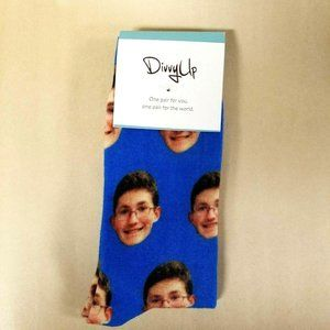 WEAR A STRANGERS FACE on Divvy Up Crew Socks